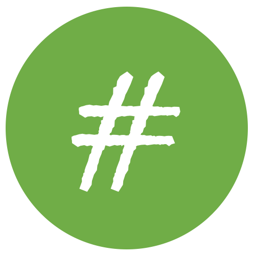 Hashtag Gesundheit - Logo