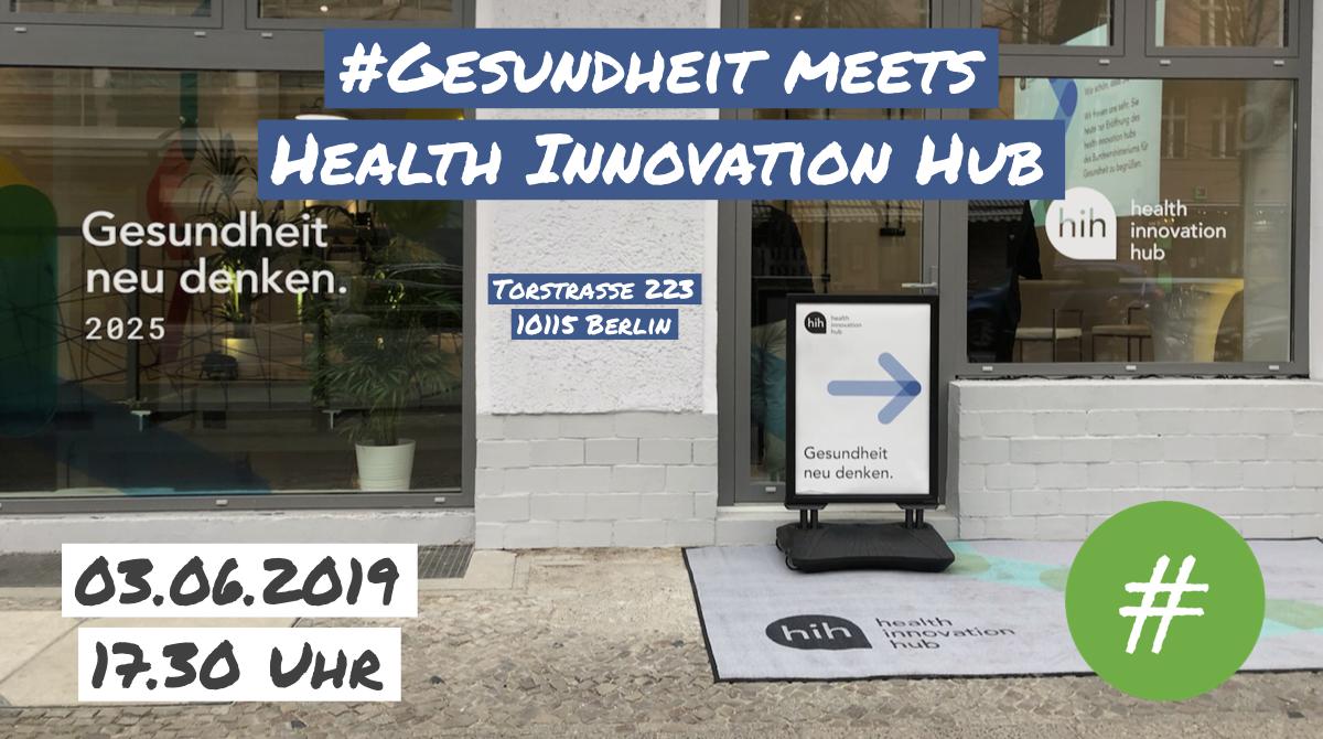 Regionaltreffen im Health Innovation Hub