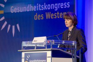 Kölner Oberbürgermeisterin Henriette Reker auf dem Gesundheitskongress des Westens 2019
