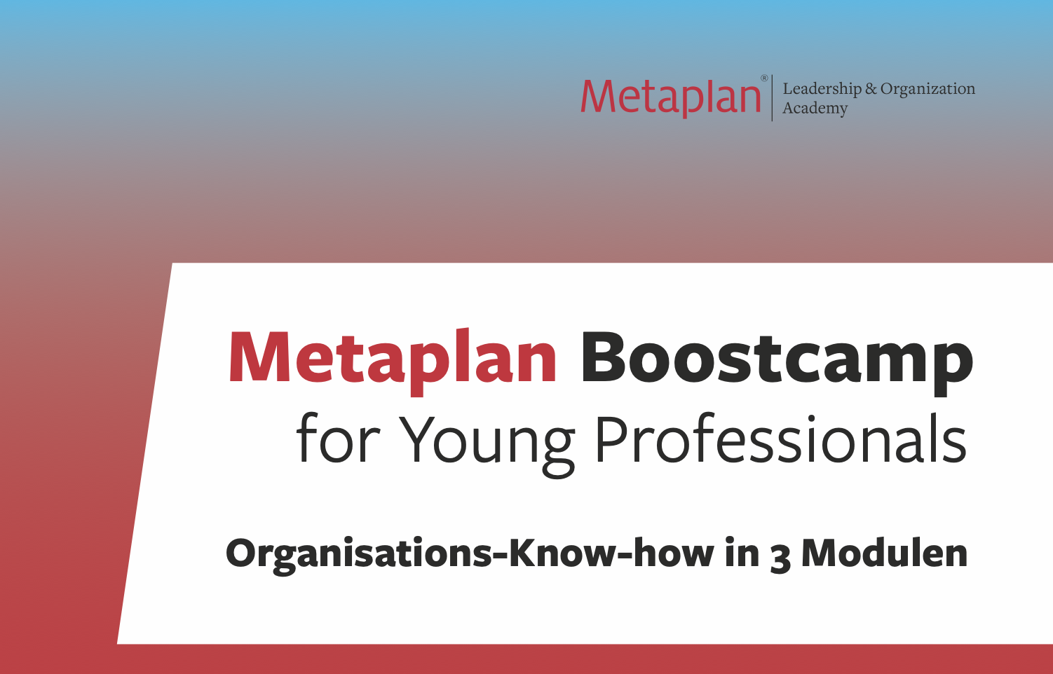 Metaplan Boostcamp